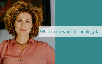 What to do when Technology fails?